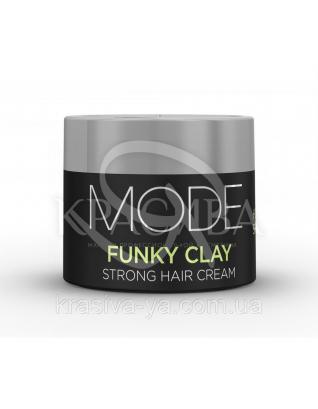 Mode Funky Clay Формує глина з природним тривалим ефектом, 75 мл : Глина для волосся