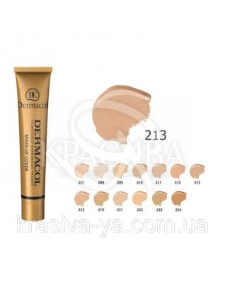 DC Make-up Cover 213 Тональный крем с повышенными маскирующими свойствами, 30 мл :
