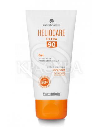 Сонцезахисний ультра-гель для комбінорованной і жирної шкіри SPF90 : Cantabria Labs