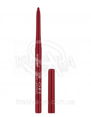 """Стійкий косметичний олівець для губ """"Long Lastin 24 Ore"""" 2 Bright Red, 0.4 г : Олівець для губ"""