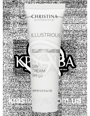Illustrious Day Cream SPF 50 Денний крем для обличчя SPF 50, 50 мл
