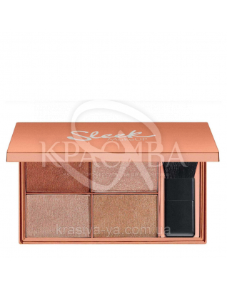 Sleek Highlighting Palette Copperplate - Хайлайтер для особи, 9 м : Хайлайтери