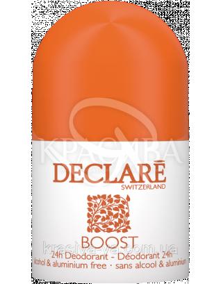"Роликовый дезодорант 24-часа ""Boost"" - Boost Deodorant 24h, 50 мл : Declare"
