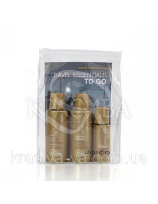Набор (шампунь, кондиционер для стойкости цвета, масло восстанавливающее), 2х50 мл + 21,5 мл