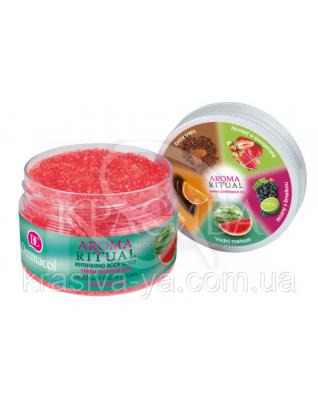 "DC Aroma Refreshing Watermelon Scrub Скраб-пилинг для тела смягчающий ""Свежий арбуз"", 200 г"