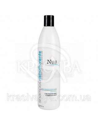 NUA Відновлюючий шампунь з екстрактом вівса і насінням льону, 250 мл : Косметика для волосся