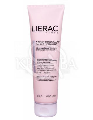 Lierac Двойной очищающий пенистый крем, 150 мл : Lierac