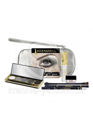 Набор косметики Smoky Eyes, (4г+1.5г+20г+6г+1шт) : Beauty-наборы для макияжа