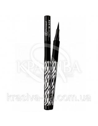DC Make-up Sensation Precise Black Фломастер для глаз водостойкий (черный),  2.8 мл : Подводка для глаз