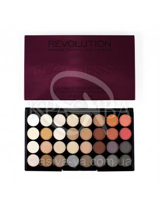 MUR Ultra 32 Shade - Палетка з 32 відтінків тіней (Flawless 2), 20 г : Makeup Revolution