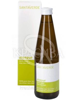 SV Натуральный 100% сок Алоэ Вера / Aloe Vera Pure 100% Pure Aloe Vera Juice, 330 мл : Органические напитки и соки