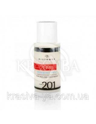Миндальный пилинг 20%, pH3.0 - коррекционный Formula 201 AHA Peeling Treatment 20%, 50 мл :