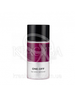 One-Off Засіб для зняття водостійкого макіяжу з губ Lip Color Remower, 60 мл :