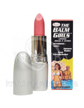 The Balm Girls Lipsticks Ima Goodkisser-Soft Shimmering Coral - Помада для губ, 4 г : TheBalm