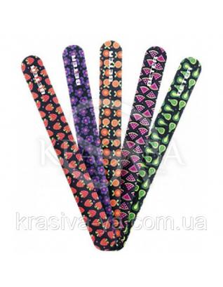 Beter Viva B Пилочка для ногтей с декором, стрекловолокно в блистере, 17.5 см : Товары для маникюра и педикюра