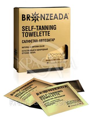 Bronzeada Салфетки-автозагар N2, 2 шт : Автозагары для лица