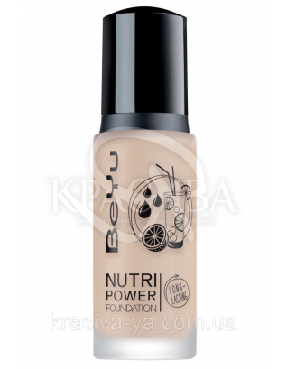 "Тональный крем "" Nutri Power "" 20 Natural Beige, 30 мл"