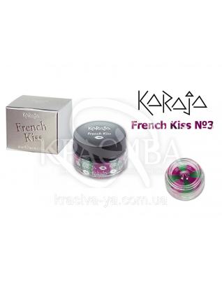 Karaja Блиск для губ French Kiss 03 Limon Pink, 10 мл