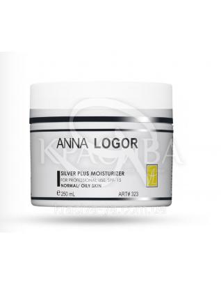 Silver Plus Moisturizer Зволожуючий крем з колоїдним сріблом, 50 мл : Anna Logor