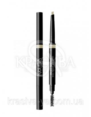 Автоматичний олівець для брів з щіткою Magic Sketch 1, 0.2 г : Nouba
