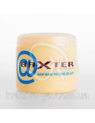 Baxter Маска разглаживающая для поврежденных волос с молочными протеинами, 500 мл : Punti di Vista
