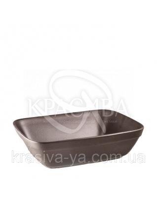 Миска керамічна велика плоска для підігріву Коричневий : Аксесуари для ванної