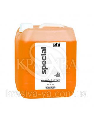 Шампунь PHI Papaya для всех типов волос фруктово- увлажняющий, 5000 мл