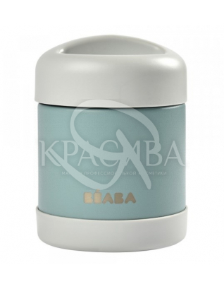 Термос для їжі зелено-сірий : Beaba