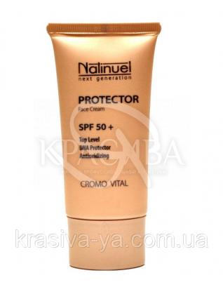 Крем-протектор максимального захисту від сонця SPF 50, 50 мл : Natinuel