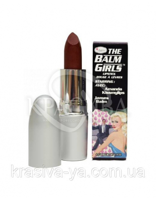 The Balm Girls Lipsticks Amanda Kissmylips-Sheer Maroon Berry - Помада для губ, 4 г : TheBalm