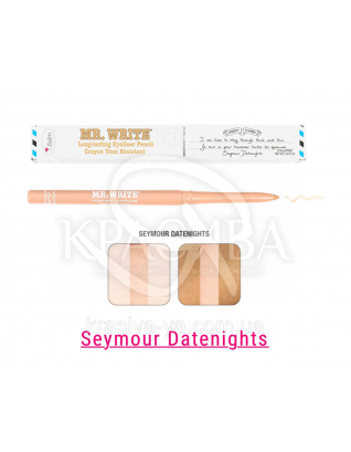 The Balm Mr. Write Seymour - Стойкий карандаш для глаз Datenights, 0.35 г : TheBalm