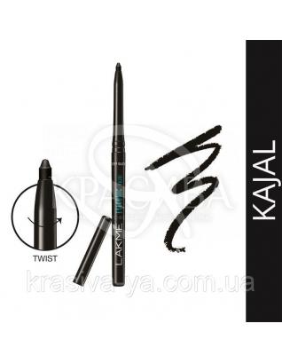 Олівець для очей Eyeconic Kajal Deep Black, 0.35 г : Lakme
