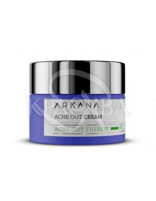Нормалізуючий матующий крем для жирної комбінованої шкіри з ознаками акне : Arkana