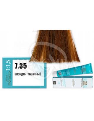 Barex Olioseta ODM - Крем-краска безаммиачная с маслом арганы 7.35 Блондин табачный, 100 мл :