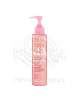 Мягкий очищающий шампунь с розовой глиной Fresh Hair Purifying Shampoo, 200 мл