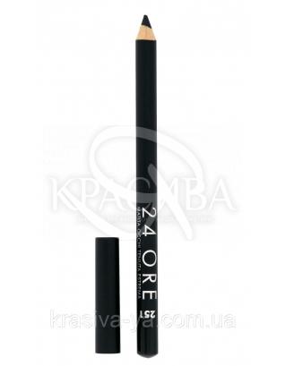 """Стійкий косметичний олівець для очей """"24 Ore Eye Pencil"""" 251, 1.5 м : Deborah Milano"""