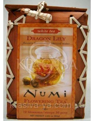 """NUMI Білий чай """" Лілія дракона / Loose Dragon Lily : Numi"""