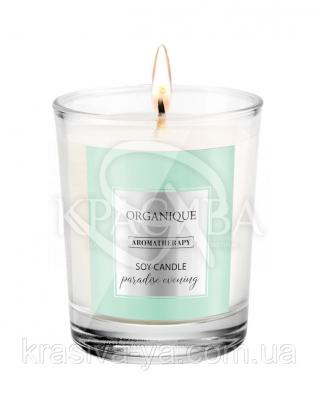 Свічка ароматерапевтична з соєвого воску Paradise Evening, 180 г : Арома свічки