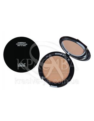 Компактная основа для лица Top Cover Compact Foundation 01, 8 г : Основа под макияж