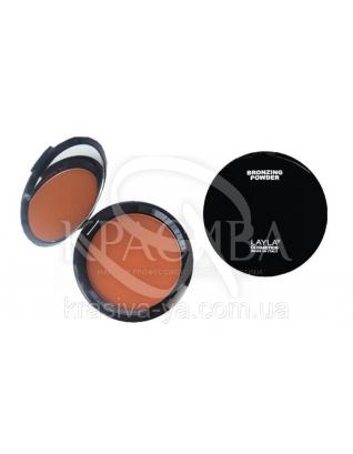 Компактна основа для особи Top Cover Bronzing Powder 03, 8 г