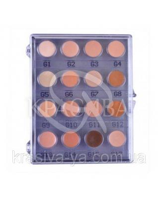 Master Colour Palette 16 Colours Палетка відтінків тональна крем-основа 16 відтінків