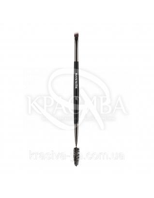 337 Eyebrow and eyelash brush, synthetic - Кисть для вій і брів, синтетика : Nastelle