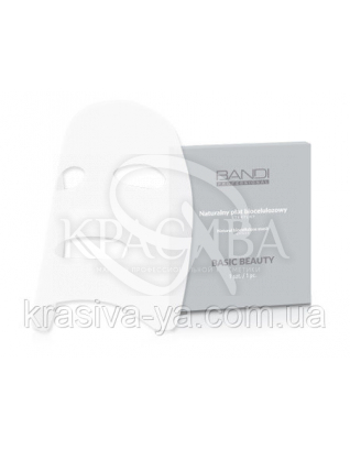 Натуральна биоцеллюлозная маска (стерильна), 1 шт