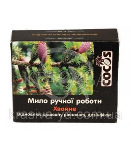 """Натуральное мыло с эфирными маслами """"Хвойное"""", 4шт х 100 г - 1"""