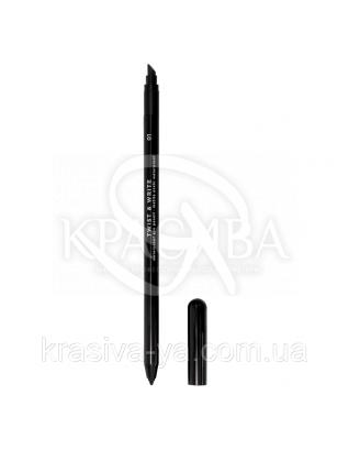"""Водостійкий олівець для очей """"Twist & Write"""" 01, 1.2 м : Nouba"""