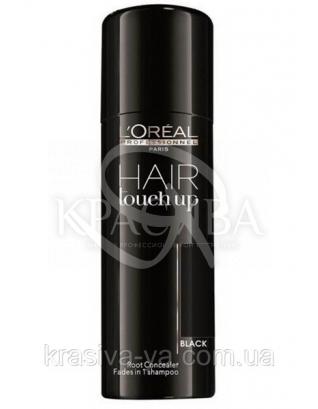 L'oreal Professionnel Hair Touch Up (Black) - Консилер для закрашивания корней (черный), 75 мл : Оттеночные средства