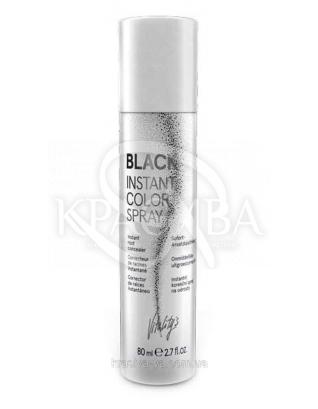 Vitality's Instant Color Spray Спрей-коректор для відрослих коренів волосся, Чорний, 80 мл : Спрей для волосся