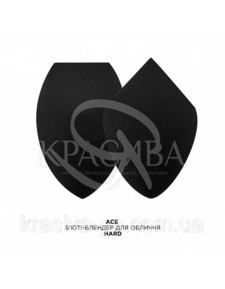 MUR Ace Hard - Бьюти-блендер для лица, черный : Аксессуары