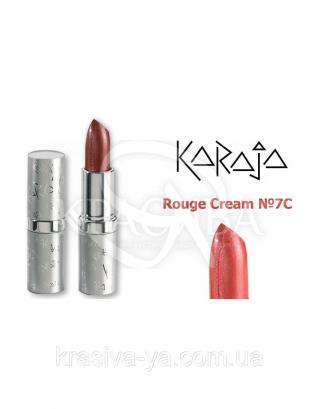 Karaja Губна помада Rouge Cream 7C Coral, 3.5 м