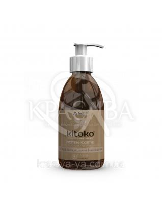 Kitoko Active Protein Additive Протеиновый лосьон для волос, 290 мл